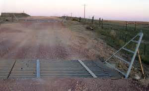 cattle guard with wings